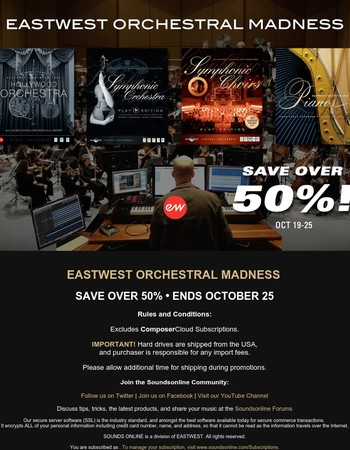 EastWest Orchestral Madness