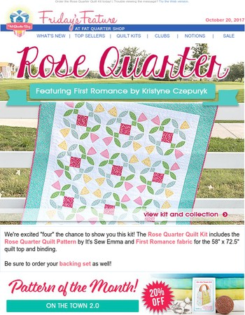 Let your love for quilting BLOOM!