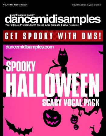 Ready For Your Halloween Party? Plus Deep Techno, Vintage Vocals & More!