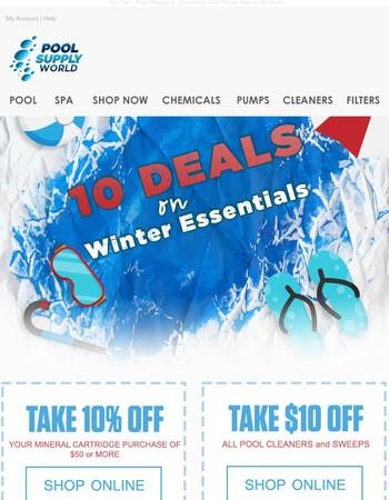 Final Day: 10 Deals on Fall/Winter Essentials â›…