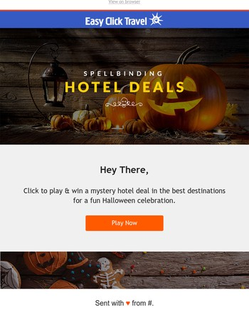 Spine tingling Halloween hotel deals