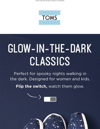 These Classics glow in the dark!