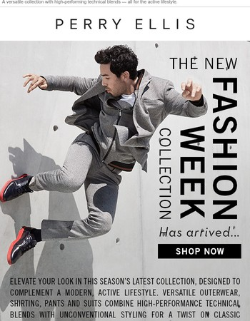 Introducing The New Fashion Week Collection