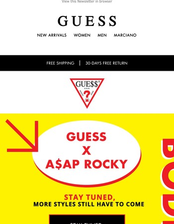 A$AP Rocky | New stunning Products are almost there!