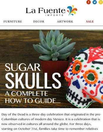 Sugar Skulls - A Complete How To Guide