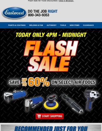 FLASH SALE- Deep Discounts on Air Tools!