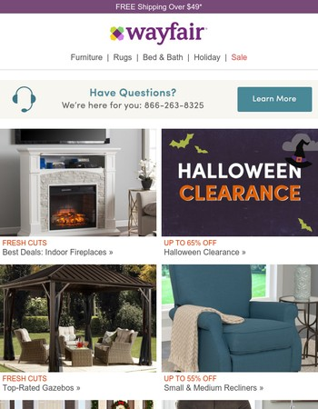 Our very best deals on indoor fireplaces