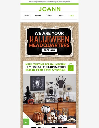 We've Crafted Amazing Halloween Deals...all 70% off!