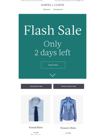 FLASH SALE: New Lines Added!