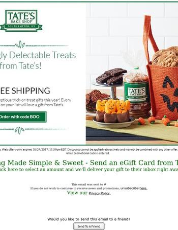 Delicious Treats Ship Free!