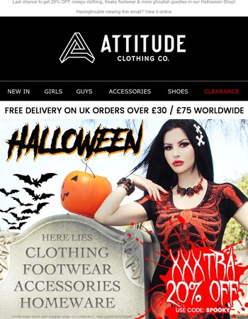 Attitude Clothing Newsletter