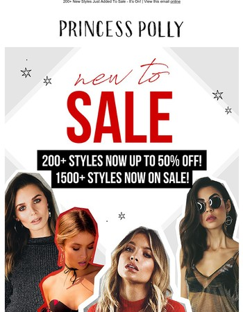 SALE - 1500 Styles Up To 50% Off!