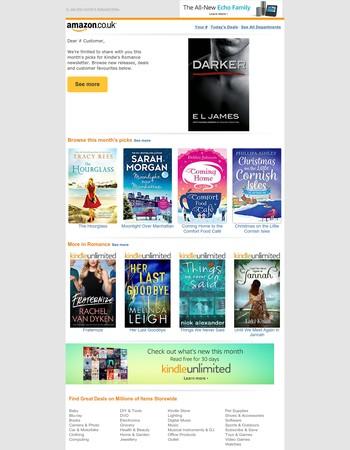 Amazon.co.uk: Romance Reads in Kindle