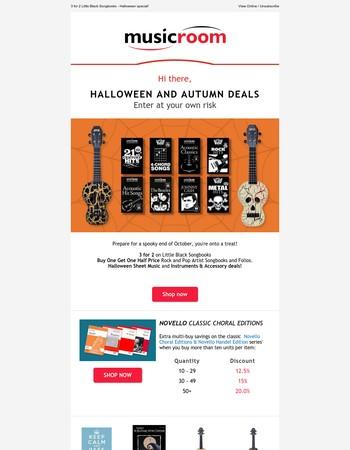 Thrilling Halloween & Autumn Deals