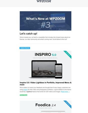 What's new at WPZOOM #3