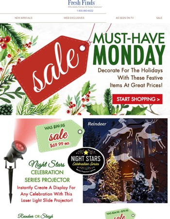 Wake Up & Shop Markdowns During Our Must-Have Monday SALE