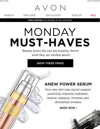 Your Monday Must-Haves Are Here!