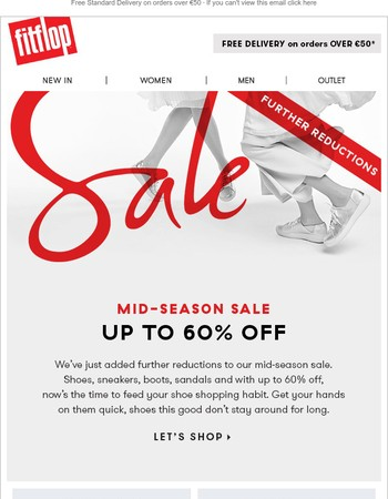 Mid-Season Sale, Further Reductions!