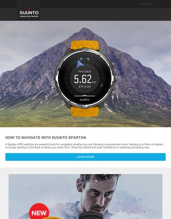 Learn How to Navigate with Suunto Spartan GPS Watches