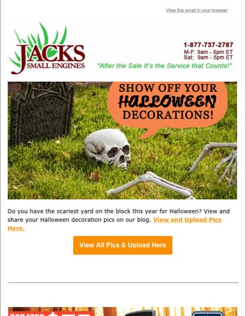 Show Off Your Spooky Halloween Decorations - View & Share Pics Here
