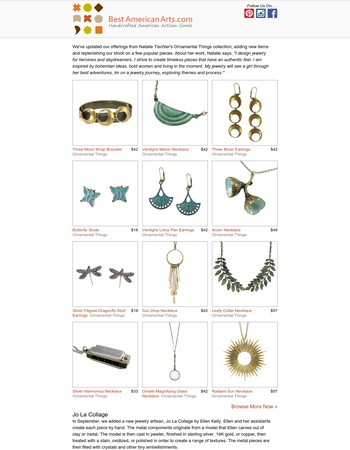 This Just In: New Jewelry from Ornamental Things