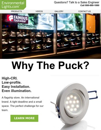 Why The Puck?