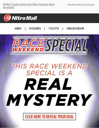 We've Got A Spooky Good Deal This Race Weekend!