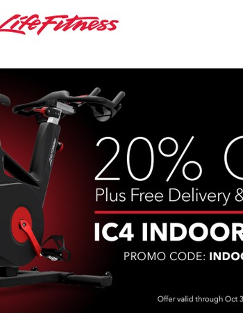 20% Off IC4 Through October 31