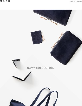 Navy Collection - New products now on the site!