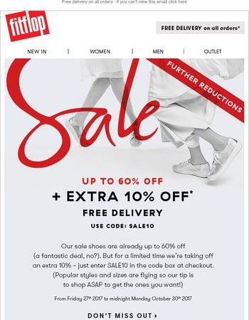 Sale alert: Your extra 10% off
