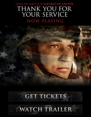Thank You For Your Service - Now Playing
