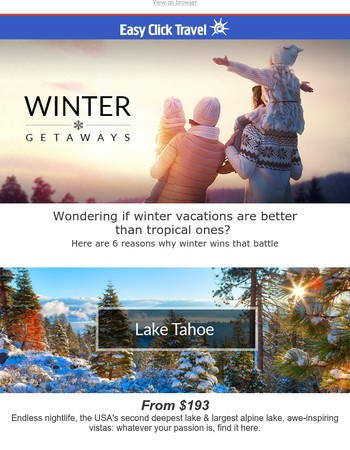 ⛄️ Best. Winter. Trips. Ever. Hurry and Save! ❄️