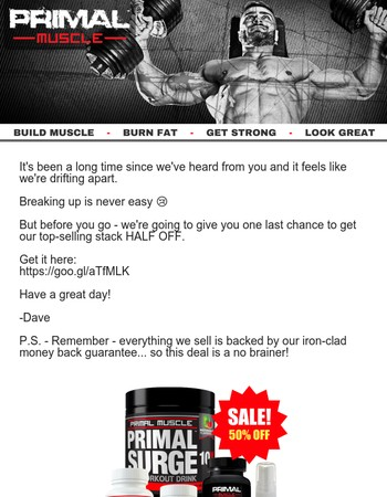 Primal Muscle Newsletter