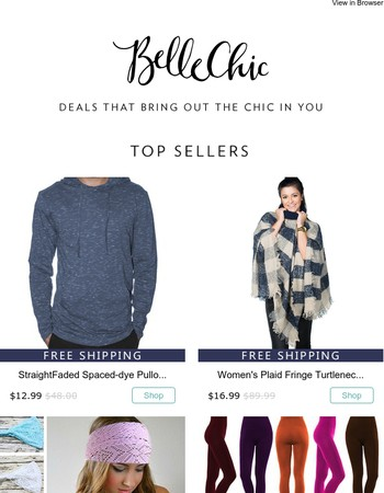 Our Top Sellers of The Week!