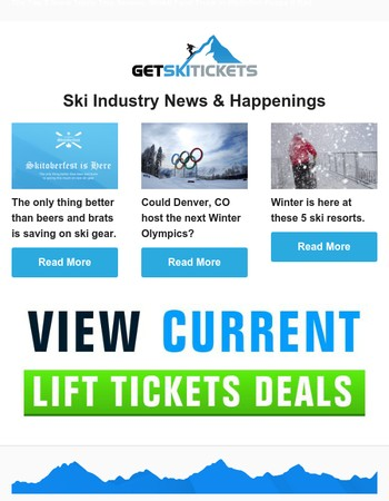Ski News - Lots of Snow, Ski Gear and Olympic bids