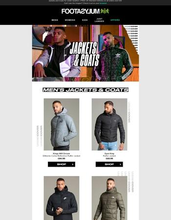 ❄️ Brr… new season puffer jackets ❄️