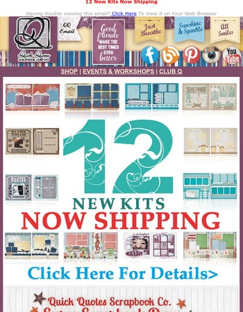All New Products! Page Kits and More