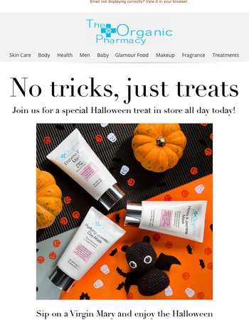 Halloween Specials Today Only!