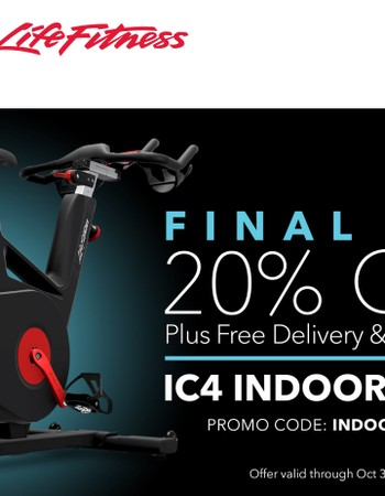 Final Day 20% Off IC4