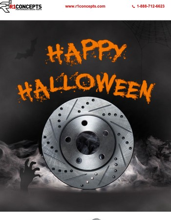 Happy Halloween! Shop BRAKETOBERFEST Sweet Deal - Ends Tonight!