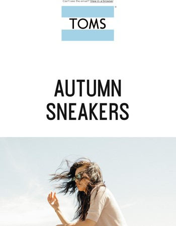 4 different TOMS styles - Casual or a little dressy, you choose