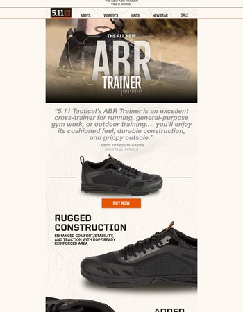 Introducing the new ABR Trainer! See what Men's Fitness had to say about it...