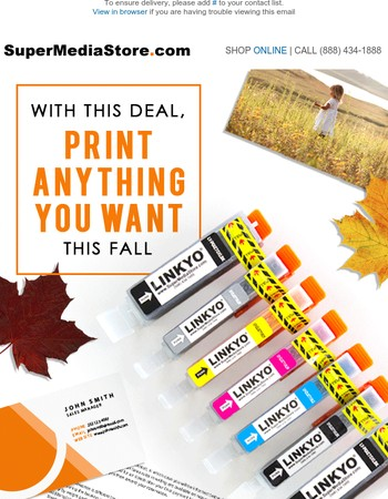 Exclusives: $7.98 Savings on 7-Pack Ink Set | Print More Without Hurting Your Wallet!