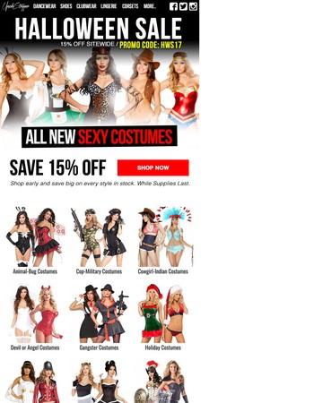 UpscaleStripper.com - Sexy Costume Promo Code!