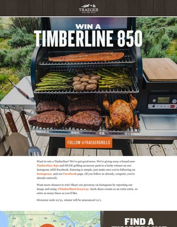 Snag Your Dream Grill