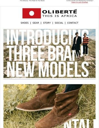 Introducing Three Brand New Boots