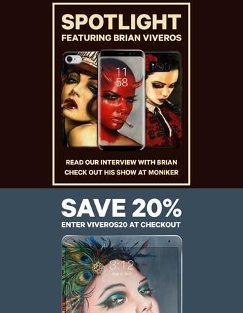 BRIAN VIVEROS   SALE & ART SHOW