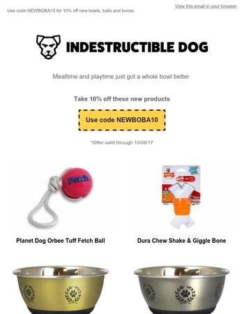 Indestructible Dog Newsletter