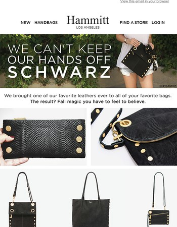 Leather you can't live without...