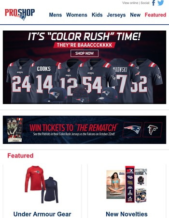 It's Color Rush Time!